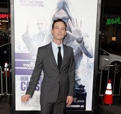Scoot McNairy attends the premiere of Warner Bros. Pictures' OUR BRAND IS CRISIS at TCL Chinese Theatre on October 26, 2015 in Hollywood, California. (photo Tibrina Hobson) - Edited