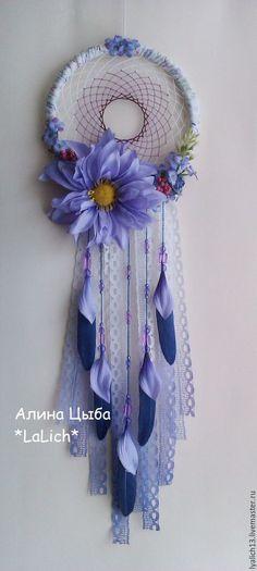 Ловец снов `Lilac` навсегда зафиксирует эти нежные цветочки в вашей комнате,которые будут радовать вас своей естественностью и хрупкостью)