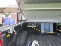 Havelock RPM show, neighbour forgot key to trailer solar power to rescue