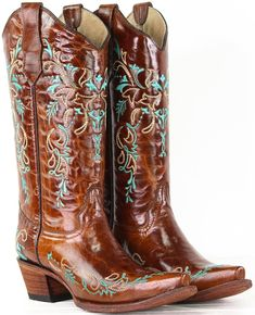 Ariat Lovely Western Boot in Sassy Brown Rural Haze