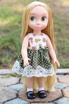 Hey, I found this really awesome Etsy listing at https://www.etsy.com/ru/listing/228614666/disney-princess-animators-16-doll-dress
