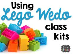 Using Lego Wedo class kits.
