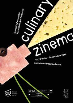 Переверстка №12. Плакат фестиваля Culinary Zinema - Нобельфайк