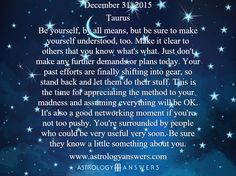 The Astrology Answers Daily Horoscope for Thursday, December 31, 2015 #astrology
