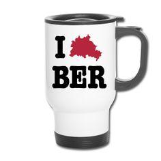 I Love BER (Berlin) - http://iloveberlin.spreadshirt.de/i-love-ber-berlin-thermobecher-A22192051