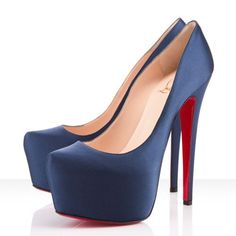Christian Louboutin Mesdames Daffodile 160mm Pumps Blue