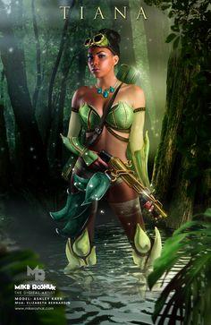Tiana, the 'Warrior' Princess Disney Princess. Disney And More, Disney Girls, Disney Love, Disney Magic, Disney Stuff, Princesa Tiana, Disney Cosplay, Boris Vallejo, Disney And Dreamworks