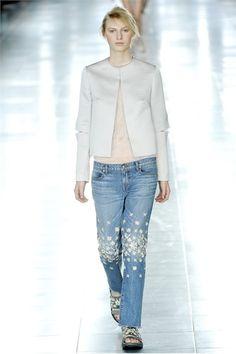 CHRISTOPHER KANE. Ebbene sì, gemme anche sui jeans... cool :)