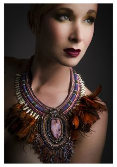Photo Gilles Renault Make up & hair * Justine G. Coiffeuse & maquilleuse à domicile * Necklace Liliad bijoux