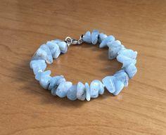 Athenais on April 01 2020 jewelry Aquamarine Bracelet, Gemstone Bracelets, Gemstone Jewelry, Turquoise Bracelet, High Jewelry, Cute Jewelry, Jewelry Art, Jewlery, Blue Gemstones