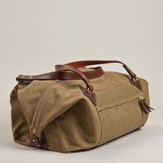 Fancy - Nomad Duffle by Tanner Goods