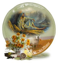 Decorate a Plate for Easter/Spring 🌸🐥 Snow Globes, Easter, Plates, Spring, Polyvore, Home Decor, Art, Licence Plates, Art Background
