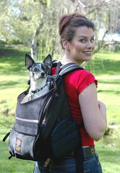 Backpack style dog carrier for small dogs. by RuffitDogCarriers ...