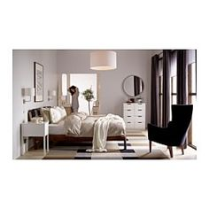 Nordli Nightstand, White