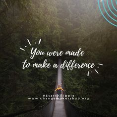 Change Makers Hub is a home for all who want to make the world a better place. To tell the stories of organizations making a difference and connecting them to people who want to help. Make A Difference, Change Maker, New Beginnings, Different, Organizations, To Tell, Friendship, Motivational, Self