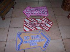 Candyland signs