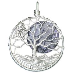 Butterfly Tree of Life Pendant