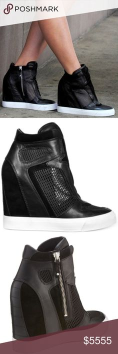 ISO DKNY Grand wedge sneakers Looking for DKNY Grand wedge sneakers in size 11 (EU 42.5) DKNY Shoes Sneakers