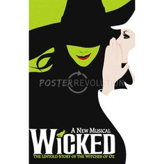 Wicked Broadway Musical Poster - 11x17