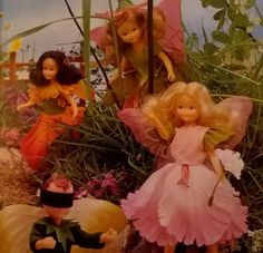 Flower Fairies dolls from the 1980s