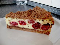 Schoko - Streuselkuchen mit Vanille - Kirschfüllung, ein sehr leckeres Rezept mit Bild aus der Kategorie Kuchen. 74 Bewertungen: Ø 4,2. Tags: Backen, Kuchen, Sommer