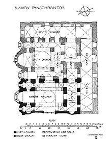 Ampliación en época de los Paleólogos del Monasterio de Constantino Lips. En 1286-1304 se añade una segunda iglesia, San Juan Bautista, con esquema de cruz griega atrofiada, triple cabecera y  un peristoon en forma de U. En s.XIV un parakklesion y un nártex.