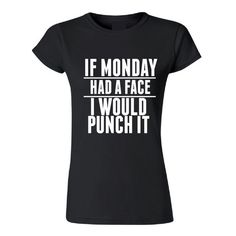 Because Mondays are the worst! Fun, quirky with a little sass! Days of the week Tees are totally kick a**! White Elephant Gifts Worth Fighting For. Inspiration for finding the perfect White Elephant gift ideas, Yankee Swap gift ideas, creative gift ideas, funny gift ideas, hilarious gift ideas, great gag gifts, extremely unusual gifts, LOL gifts, laugh out loud gifts.