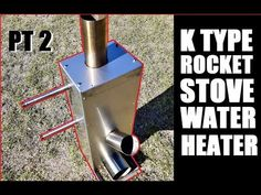 Enjoy the drone footage from my brother in law. Rocket Stove Water Heater, Water Rocket, Rocket Stoves, Water Heaters, Rocket Stove Design, High Bay Led Lighting, Diy Heater, Outdoor Stove, Stove Oven