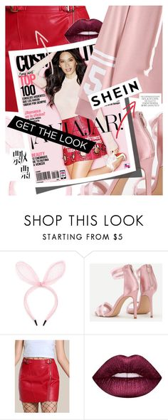 """Sporty in Pink featuring SHEIN.com"" by cultofsharon ❤ liked on Polyvore featuring Lime Crime"