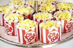 Popcorn Cupcakes.