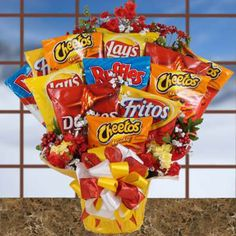 Snack Bag Bouquet