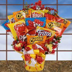 Snack Bag Bouquet