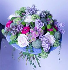 Hand tied Bouquet with a twist