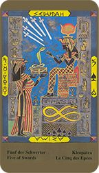 Five of Swords from the Kazanlar Tarot at TarotAdvice Tarot Reading, Tarot Decks, Tarot Cards, Swords, Art Gallery, Image, Tarot Card Decks, Art Museum, Sword