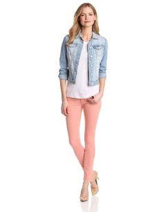 Pale wash jean jacket