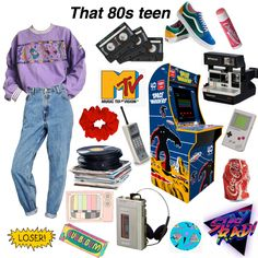 Retro Outfits, Vintage Outfits, Girl Outfits, Cute Outfits, Fashion Outfits, 90s Outfit Men, Mbs, Indie Fashion, Outfit Goals