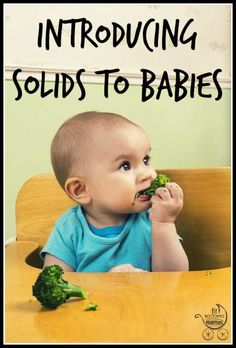 How did you go about introducing solids to your baby? Here's one way!   Fit Bottomed Mamas