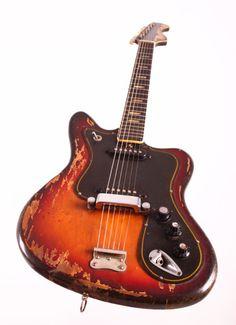 Musima De Luxe 25 1970 2 Tone Sunburst Fender Jaguar Copy | Reverb