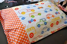 Little Bit Funky: 20 minute crafter. 10 minute pillowcase.