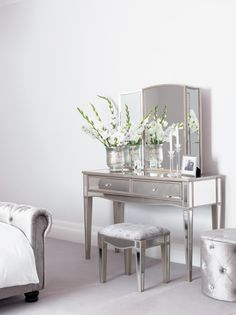 Every bedroom needs a dresser! This elegant dressing table provides the perfect feature for your bedroom.