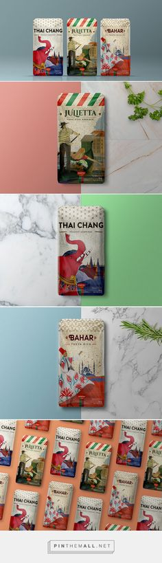 Novarroz: Origins rice by Super Brand Consultants. Source: Daily Package Design Inspiration. Pin curated by #SFields99 #packaging #design #inspiration #ideas #creative #product #consumer #doypack #rice #good #country #range