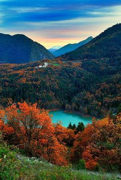 Lake Plastiris, the jewel of Greece is an idyllic landscape of unspoiled natural beauty, & circled by lush mountains! Beautiful World, Beautiful Places, Beautiful Pictures, Amazing Places, All Nature, Amazing Nature, Places To Travel, Places To See, Travel Destinations