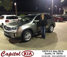 https://flic.kr/p/AYgJH1 | Happy Anniversary to Olga on your #Kia #Sorento from Robert Bills at Capitol Kia! | deliverymaxx.com/DealerReviews.aspx?DealerCode=RXQC