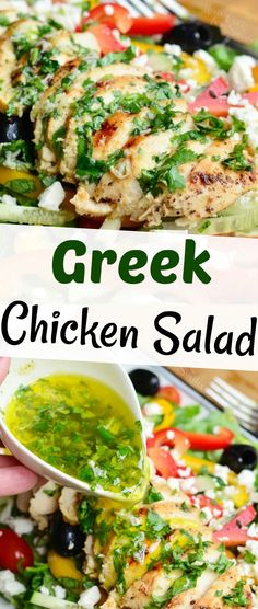 Lunch Recipes, Salad Recipes, Healthy Recipes, Dip Recipes, Appetizer Salads, Dinner Salads, Amish Recipes, Greek Recipes, Recipe Using Chicken