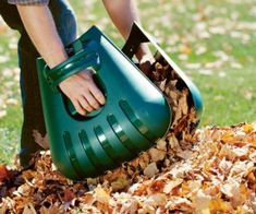 Autumn is upon us and its time to get to the season's yardwork. These hand extensions will cut your chore time in half.