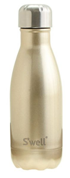 Love this gold water bottle!