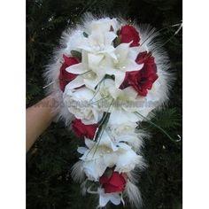 Bouquet Mariée retombant lys