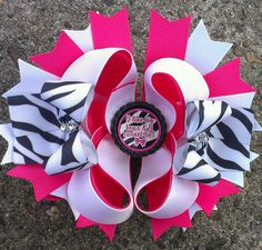 Cute Zebra bow