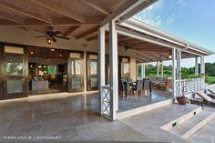 www.thierrydehove.com. Georgian influence in Caribbean homes. Great Verandah space.