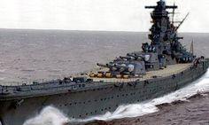 El Yamato japonés, enorme y devastador.